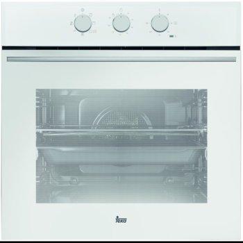 Фурна за вграждане Teka Wish HSB 610, клас А, 70 л. обем, 6 функции, вентилатор, таймер, динамична охлаждаща система, система за водно почистване, бяла image