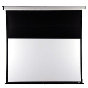Екран, Hama за стена, 240x175cm, с черна лента, 16:9 image