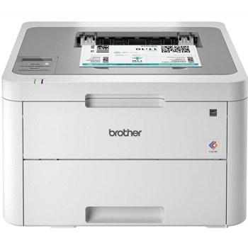 "LED принтер Brother HL-L3210CW, цветен, 2400 x 600 dpi, 18 стр/мин, LAN100Base-TX, Wi-Fi, USB 2.0, А4, 6.8"" (17.27 cm) цветен сензорен дисплей image"