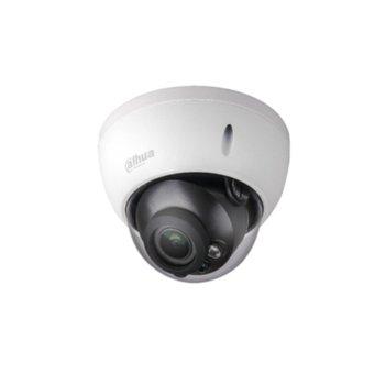 IP камера Dahua IPC-HDBW2231R-ZS, куполна, 2 Mpix(1920x1080@25FPS), 2.7mm~13.5mm моторизиран обектив, H.265+/H.265/H.264+/H.264, IR осветеност (до 30 метра), PoE, вандалоустойчива IK10, IP67 защита от вода, RJ-45, Micro SD memory image