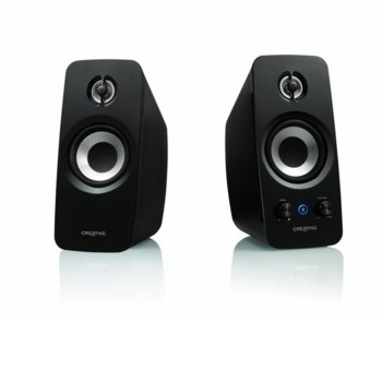 Тонколони, Creative T15 Wireless, 2.0, Bluetooth, AUX, черни image