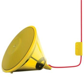Тонколона JBL Spark, 2.0, 14W RMS, Bluetooth, жълта image