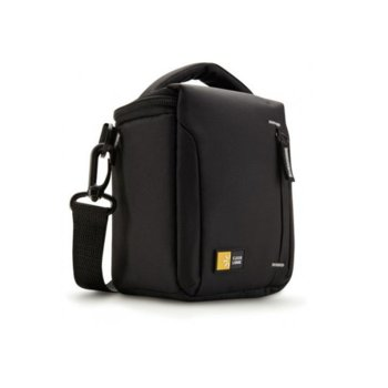 Чанта за фотоапарат Case Logic TBC-404, джобове за аксесоари, черна image