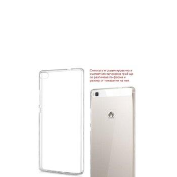 Калъф Apple iPhone 6, страничен протектор с гръб, силиконов, Ultraslim TPU, прозрачен-бял image