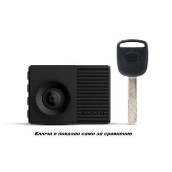 "Видеорегистратор Garmin Dash Cam 56, камера за автомобил, WQHD, 2.0"" (5.1 cm) LCD дисплей, 60FPS, микрофон, акселерометър, Voice Control, microSD слот до 64GB, USB, Wi-Fi, Bluetooth, черна image"