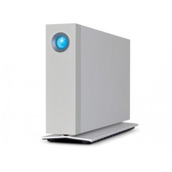 """Твърд диск 10TB, Lacie d2 (сребрист), външен, 3.5""""(8.89 cm), Thunderbolt 3 image"""