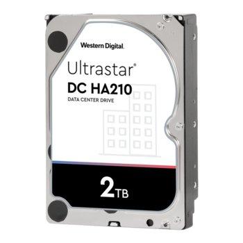 """Твърд диск 2TB WD Ultrastar, SATA 6Gb/s, 7200 rpm, 128MB, 3.5""""(8.89 cm) image"""