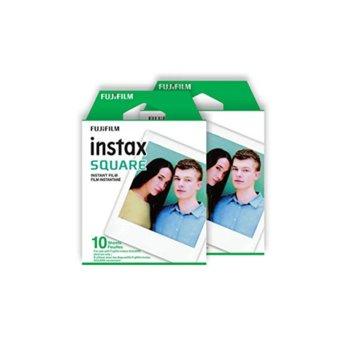 Фотохартия Fujifilm Instant Film, за Fujifilm Instax Square, 20 листа image