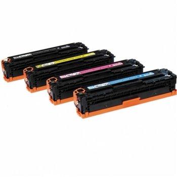 Тонер касета за HP Color LaserJet CM2320fxi MFP/CM2320n MFP/CM2320nf MFP/CP2025/CP2025dn/CP2025n/CP2025x, Cyan - CC531A - 2909 - Неоригинален, Заб.: 2800 k image