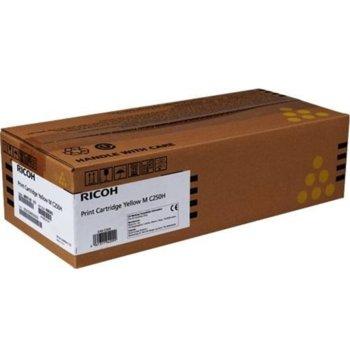 Касета за Ricoh M C250FWB/P C300W/M C250FW/P C301W, Yellow, Ricoh 408343, заб.: 6 300k image