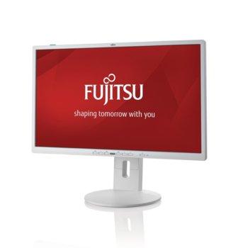 """Монитор Fujitsu P24-8 TE Pro, EU, (S26361-K1593-V140) 23.8"""" (60.45 cm) IPS панел, Full HD, 5ms, 20,000,000: 1, 250 cd/m2, DisplayPort, DVI, VGA image"""