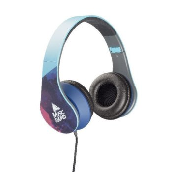 Слушалки Cellularline Music Sound, 3.5mm жак, цветни image