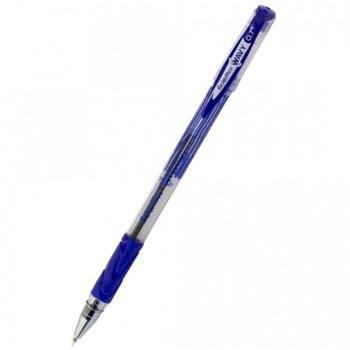 Химикалка Flex Office FO-045 Wavy, син цвят на писане, Син image