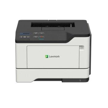 Лазерен принтер Lexmark MS421dw, монохромен, 1200 x 1200 dpi, 40 стр./мин, LAN, WI-Fi, USB, A4  image