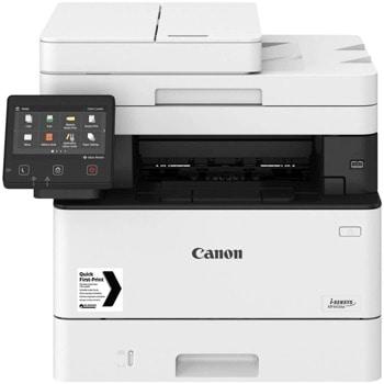 Мултифункционално лазерно устройство Canon i-SENSYS MF443dw, монохромен принтер/копир/скенер, 600 x 600 dpi, 38 стр./мин, USB, LAN, Wi-Fi, A4 image