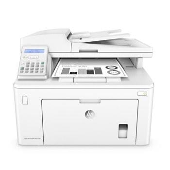 Мултифункционално лазерно устройство HP LaserJet Pro MFP M227fdn, монохромен принтер/копир/скенер/факс, 1200x1200dpi, 28 стр/мин, Lan, USB, A4 image