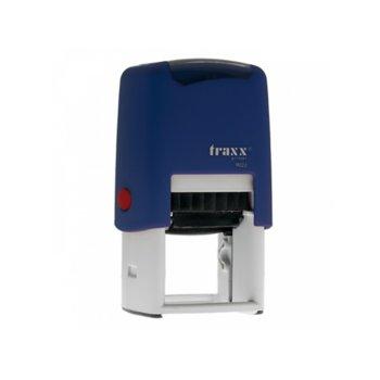 Автоматичен печат Traxx 9023 син, 30/30 mm, квадратен image