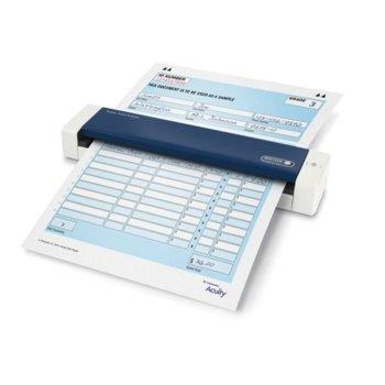 Преносим скенер Xerox Duplex Travel Scanner, 600 dpi, A4, двустранно сканиране, ADF, USB, бял image