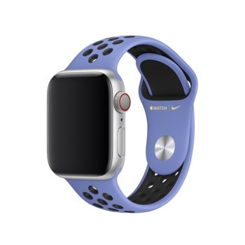 Каишка за смарт часовник Apple Watch (40mm) Nike Band: Royal Pulse/Black Nike Sport Band - S/M & M/L, синя image