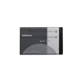 Батерия (oригинална) Nokia Battery BL-4C за Nokia X2, C2-05 и др., 860 mAh, 3.7V  image