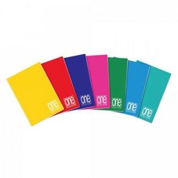 Тетрадка Blasetti One color, формат А5, офсетова хартия, 62 листа, телчета image