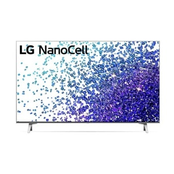 "Телевизор LG 43NANO773PA, 43"" (109.22 cm) 4K/UHD Smart TV, HDR, DVB-T2/C/S2, LAN, Wi-Fi, Bluetooth, 3x HDMI, 2x USB image"