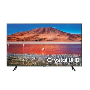 "Телевизор Samsung 50TU7072, 50"" (127 cm) 4K Ultra HD Smart TV, DVB-T2CS2, Wi-Fi, LAN, Bluetooth, 2x HDMI, 1x USB 3.0 image"