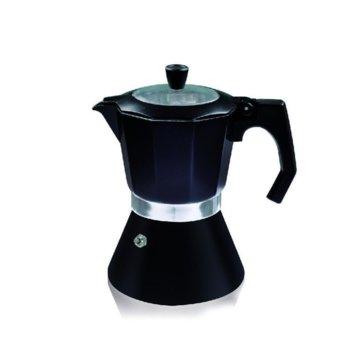 Кубинска кафеварка Klausberg ZP 1173 DI6, за 6 чаши, черна image