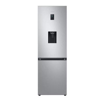 Хладилник с фризер Samsung RB34T652ESA/EF, клас E, 331 л. общ обем, свободностоящ, 256 kWh/годишно, диспенсер за вода, SpaceMax Technology, No frost, инокс image