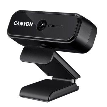 Уеб камера Canyon C2 CNE-HWC2, микрофон, 1280x720/ 30FPS, USB, черна  image