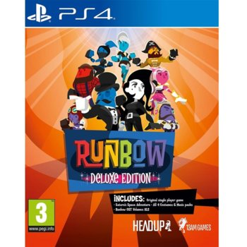 Runbow Deluxe Edition PS4 product