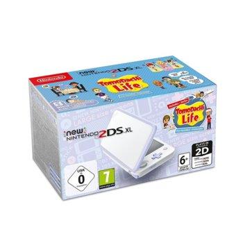 Nintendo 2DS XL Tomodachi Life White product