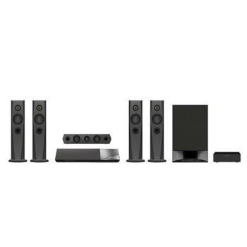 Soundbar система за домашно кино Sony BDV-N7200W, 5.1 канална, Bluetooth, HDMI, USB, 1200W image