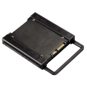 """Преходник (mounting bracket) HAMA 39830, от 2.5"""" HDD към 3.5"""" HDD, черна image"""