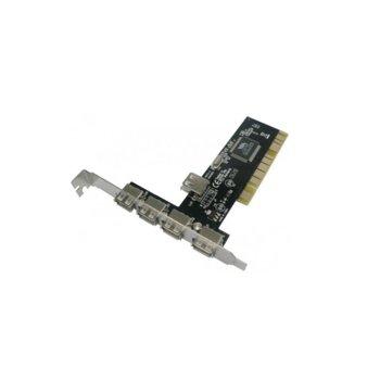 Контролер PCI към 4x USB2.0, 17453 image