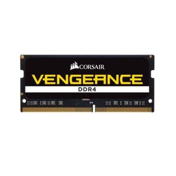 Памет 8GB DDR4 2666MHz, SO-DIMM, Corsair CMSX8GX4M1A2666C18, 1.2V image