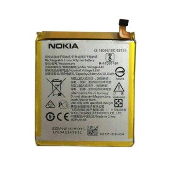 Батерия (оригинална) Nokia HE319, за Nokia 3, 2630mAh/3.85V, bulk package image