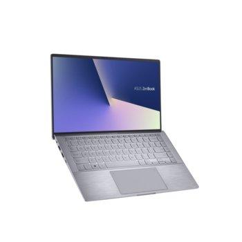 "Лаптоп Asus Zenbook UM433IQ-WB501T (90NB0R89-M00280)(сив), шестядрен AMD Ryzen 5 4500U 2.3/4.0GHz, 14.0"" (35.56 cm) Full HD Anti-Glare Display & MX350 2GB, (HDMI), 8GB, 512GB SSD, 1x USB 3.1 Type C, Windows 10 Home  image"