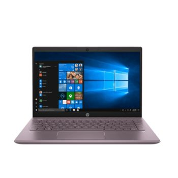 "Лаптоп HP Pavilion 14-ce3011nu (3F534EA)(сив), четириядрен Ice Lake Intel Core i5-1035G1 1.0/3.6 GHz, 14"" (35.56 cm) Full HD IPS Anti-Glare Display & GF MX130 2GB, (HDMI), 8GB DDR4, 512GB SSD, 1x USB Type-C, Free DOS image"