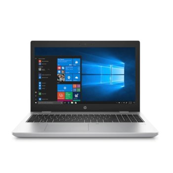 "Лаптоп HP ProBook 650 G5 (6XE26EA_D9Y32AA)(сив) с подарък докинг станция HP, четириядрен Whiskey Lake Intel Core i5-8265U 1.6/3.9 GHz, 15.6"" (39.62 cm) Full HD Anti-Glare Display, (HDMI), 8GB DDR4, 256GB SSD, 1x USB 3.1 Type-C, Windows 10 Pro image"