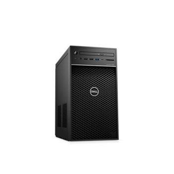 Настолен компютър Dell Precision 3630 Tower (#DELL02547), осемядрен Coffee Lake Intel Core i9-9900 3.1/5.0 GHz, Nvidia Quadro P2200 5GB, 32GB DDR4, 512GB & 2TB HDD, 5x USB 3.1, клавиатура и мишка, Windows 10 Pro  image