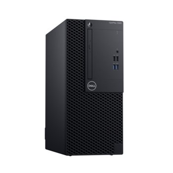 Настолен компютър Dell OptiPlex 3070 MT (#DELL02759), осемядрен Coffee Lake Intel Core i7-9700 3.0/4.7 GHz, 8GB DDR4, 1TB HDD, 5x USB 3.1, клавиатура и мишка, Windows 10 Pro image