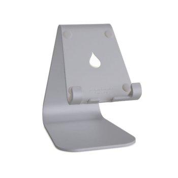 Стойка за таблет/телефон Rain Design mStand mobile, 81 х 111 х 124мм, сива image