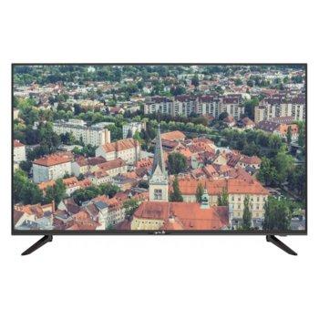 """Телевизор Arielli LED43F2T2UHD SMART, 43"""" (109.22 cm) 4K Ultra HD Smart, DVB-T2/C/S2, Wi-Fi, 3x HDMI, 2x USB image"""