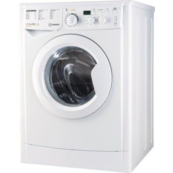 Пералня със сушилня Indesit EWDD 7145 W, клас B, 7 кг. капацитет на пералня / 5кг. на сушилня, 1400 оборота, свободностояща, 60cm. ширина, 16 програми, бяла image