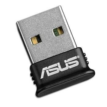 Адаптер Asus USB-BT400, USB 2.0, Bluetooth V4.0, до 3Mbps, обхват до 10м, черен image