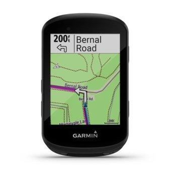 """Навигация за велосипеди Garmin Edge 530, 2.6""""(6.60cm), ANT+, Bluetooth, BLE, Wi-fi, водоустойчив, до 20 часа време за работа, основна карта image"""