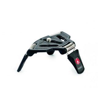 Мини трипод Manfrotto MP3-BK, мин/макс. височина 1-4 cm, 1.5 кг. товароносимост, алуминий, черен image