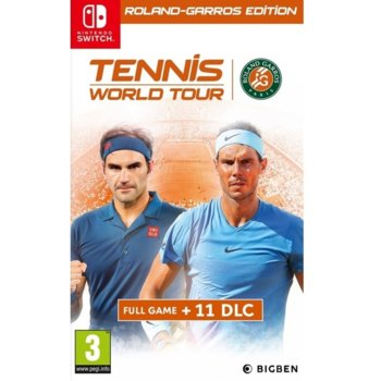 Игра за конзола Tennis World Tour - Roland-Garros Edition, за Nintendo Switch image