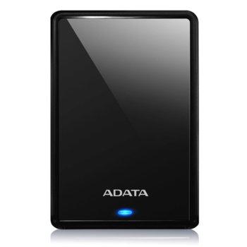 """Твърд диск 1TB A-Data HV620S (черен), външен, 2.5"""" (6.35 cm), USB 3.1 image"""